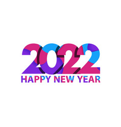 2022 happy new year cover business diary vector