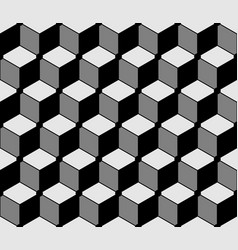 3d hexagon background abstract for textile vector