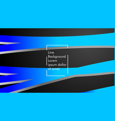 abstract wave background with blue gradient vector image