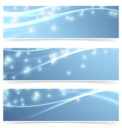 Bright modern swoosh speed sparkling flare line vector