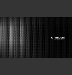 Carbon fiber material texture with light effect vector
