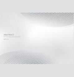 elegant abstract white and gray gradient vector image