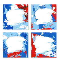 patriotic design templates with space for text vector image