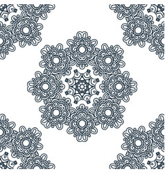 seamless background east ornament vector image