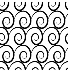 Wave geometric seamless pattern 407 vector image