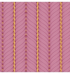 seamless pattern of interwoven ropes vector image