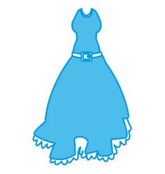 womens beautiful dress vector image