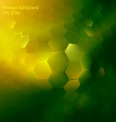 Abstract colorful hexagon background vector