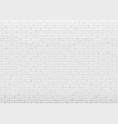 Background with white brick wall vector