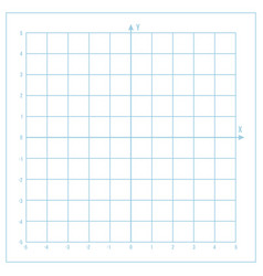 blue metric graph paper with coordinate vector image