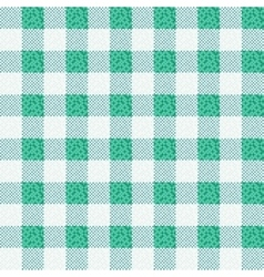 Green fabric texture backgroun vector