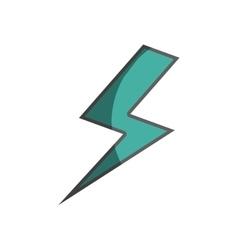 Ray energy isolated icon vector