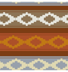 Seamless texture with traditional pattern vector image