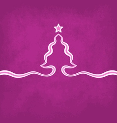 Violet Christmas Background vector