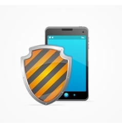 Phone Safety Concept vector image