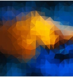 Abstract 2D mosaic multitriangle geometric vector