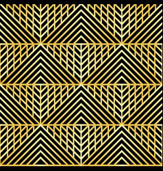 Abstract luxury geometric seamless pattern vector