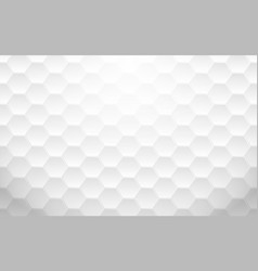 abstract white geometric hexagon background vector image