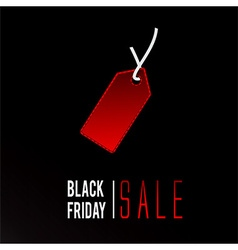 Black Friday sale promo vector image