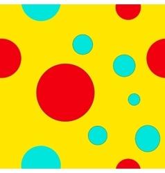 Circles geometric seamless pattern vector image