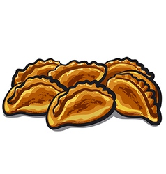 fresh pastries vector image