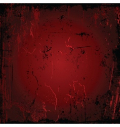 Red grunge vector