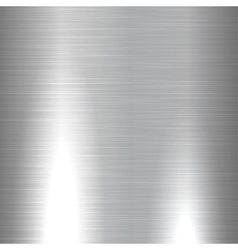 Shiny brushed metal texture vector