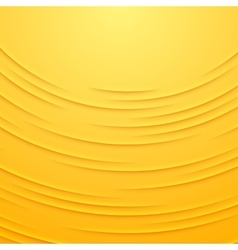 Abstract background with yellow layers vector image