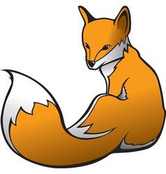 fox 1 vector image vector image