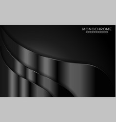 Dark monochrome background with shinny lines vector