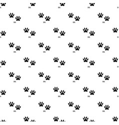 Dog step pattern seamless vector
