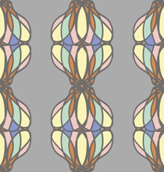 Pastel abstract seamless pattern vector