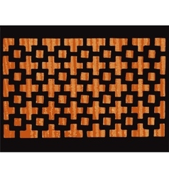 Patterned grating vector
