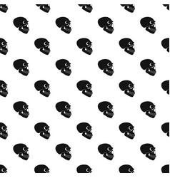 Skull pattern seamless vector