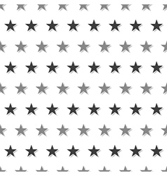 Gray Black Star Abstract White Background vector image