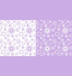 polka dots seamless pattern dotted circles vector image