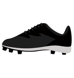 Baseball shoe image vector