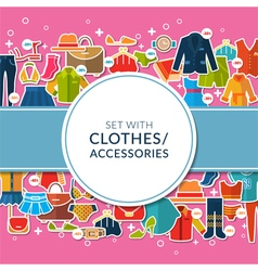 Big sale and shopping vector