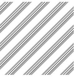 black white diagonal lines seamless pattern vector image