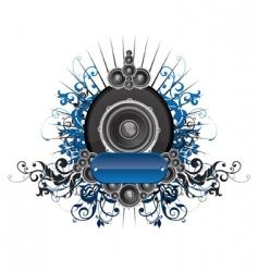 dunamic sound vector image