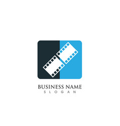 film logo and symbols template vector image