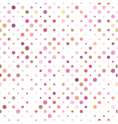 geometric circle pattern background - seamless vector image