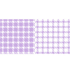Hounds tooth seamless pattern in purple and white vector