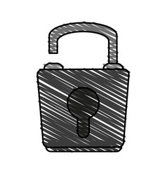 Lock icon image vector
