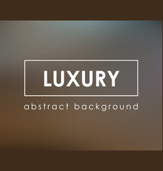 luxury dark blurry background empty template vector image