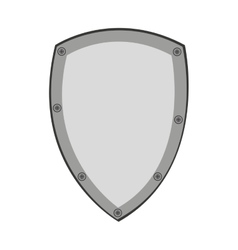 protection shield design vector image