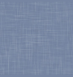 Worn french blue woven linen texture background vector