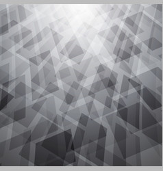 abstract background with white and gray objects vector image vector image