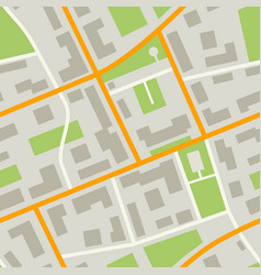 city map pattern vector image vector image