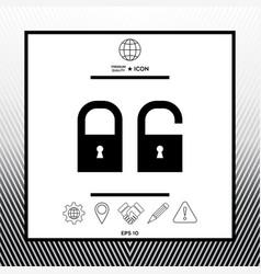 Lock unlock - set ico vector